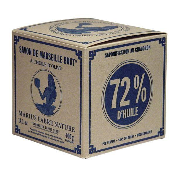 Marseillské mýdlo palmové 400 g (v krabičce) - Marius Fabre