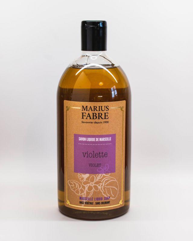 Marseillské tekuté mýdlo fialka1 litr Marius Fabre
