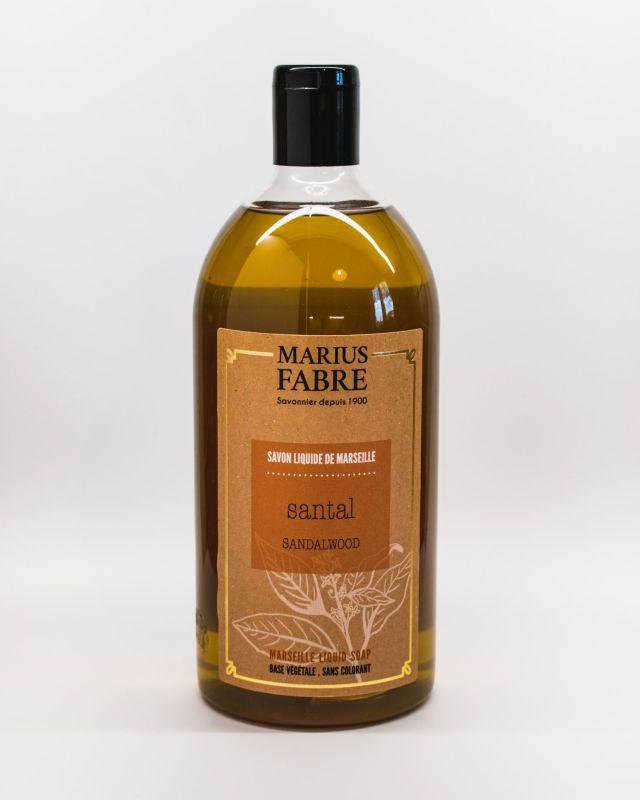 Marseillské tekuté mýdlo santal 1 litr Marius Fabre