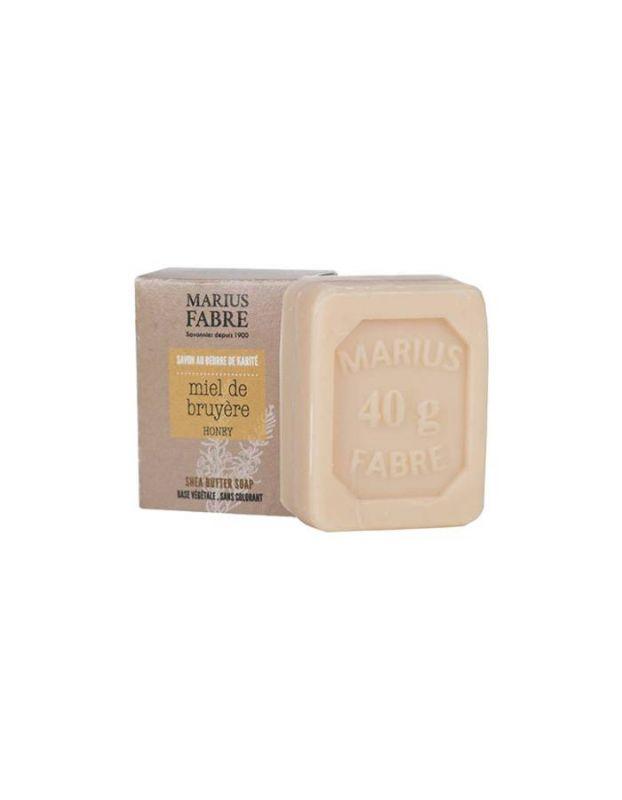 Marseillské toaletní mýdlo med 40 g - Marius Fabre