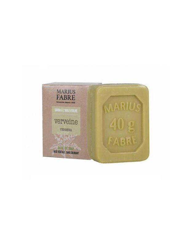 Marseillské toaletní mýdlo verbena 40 g - Marius Fabre