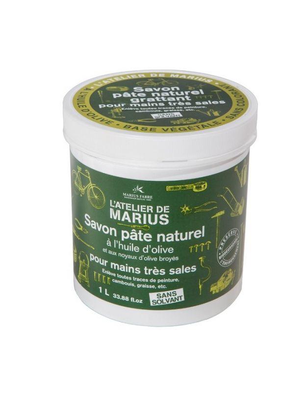 Mýdlo s drcenými olivovými peckami 1 l Marius Fabre