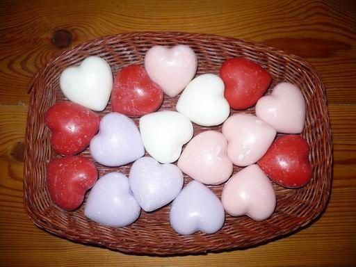 Srdíčko - potlučené Bulles de savon